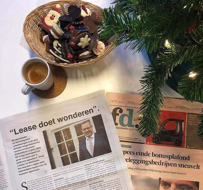 MediLease Leo Frijlink Lease doet wonderen